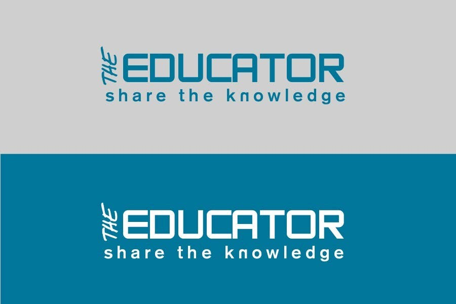 Конкурсная заявка №3 для Logo Design for The Educator