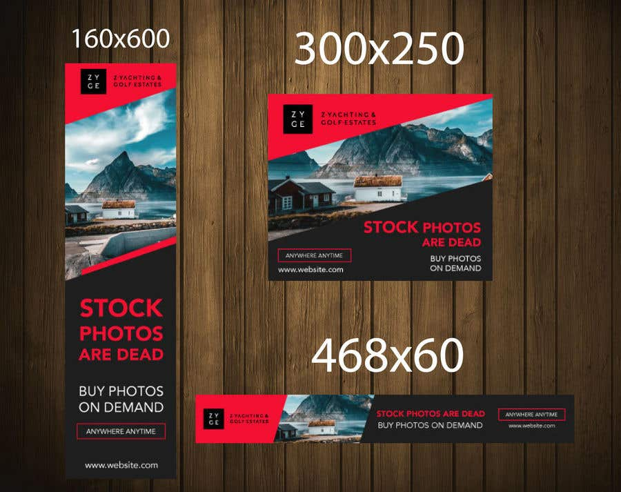 Konkurrenceindlæg #22 for Stock photo display ad