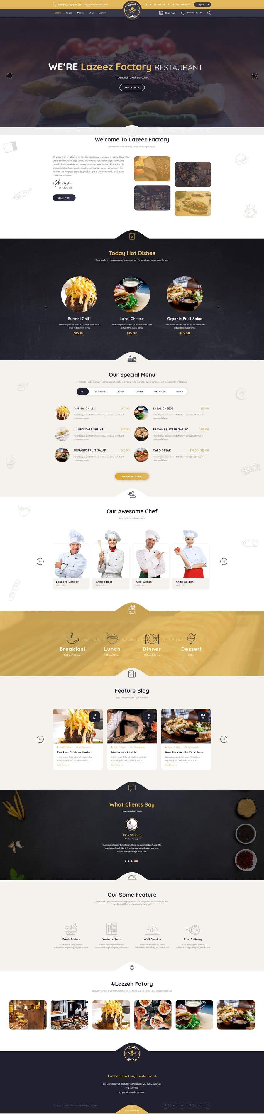 Konkurrenceindlæg #32 for Design A Website and Logo For Restaurant