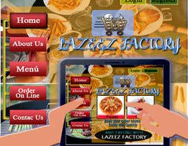 #120 untuk Design A Website and Logo For Restaurant oleh Jeilem