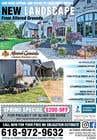 Graphic Design Конкурсная работа №17 для Design Print Ad For Landscaping Business