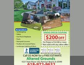 Nro 15 kilpailuun Design Print Ad For Landscaping Business käyttäjältä Sreesujitdeb