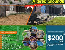 #13 for Design Print Ad For Landscaping Business by jerrymarbels