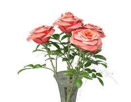 #11 za 3D rose model od kvinke