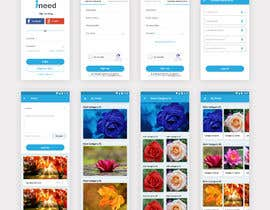 #30 za Mobile and Web app frontend mock-up od astradesigns22