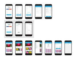 #35 za Mobile and Web app frontend mock-up od astradesigns22