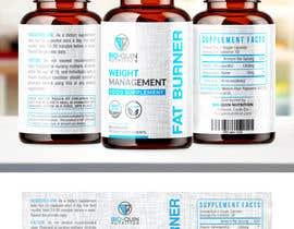 #42 untuk capsule bottle label design oleh melyaalaoui