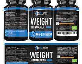 #70 untuk capsule bottle label design oleh Sabbirryan321