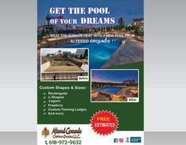 isty793 tarafından Design a print ad for pool business için no 44
