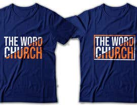 #19 cho Church T-Shirt Design (2019) bởi RibonEliass