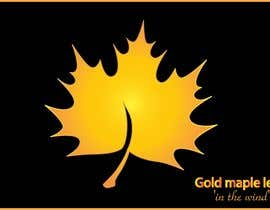#38 for Original icon for: Gold maple leaf 'in the wind' by NeelSagarbd