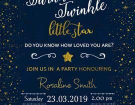 #13 untuk An Amazing twinkle twinkle little star baby shower invitation oleh sonalfriends86