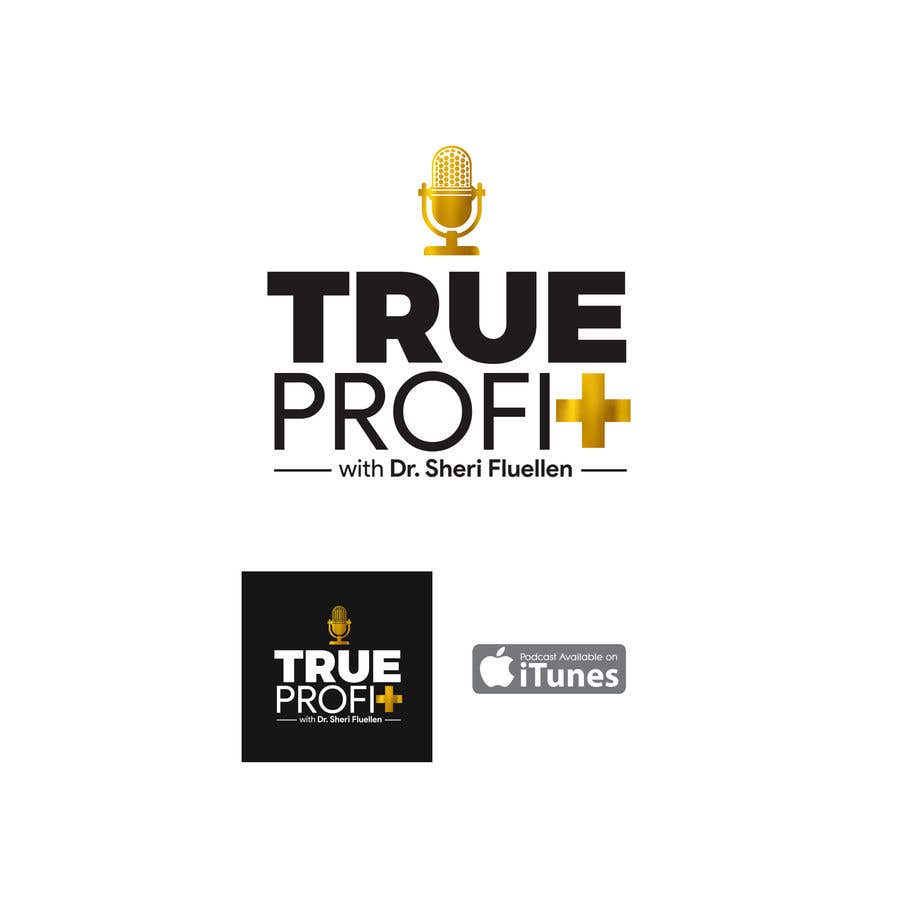Penyertaan Peraduan #3 untuk True Profit Podcast Logo