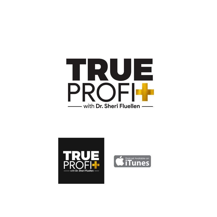 Penyertaan Peraduan #7 untuk True Profit Podcast Logo