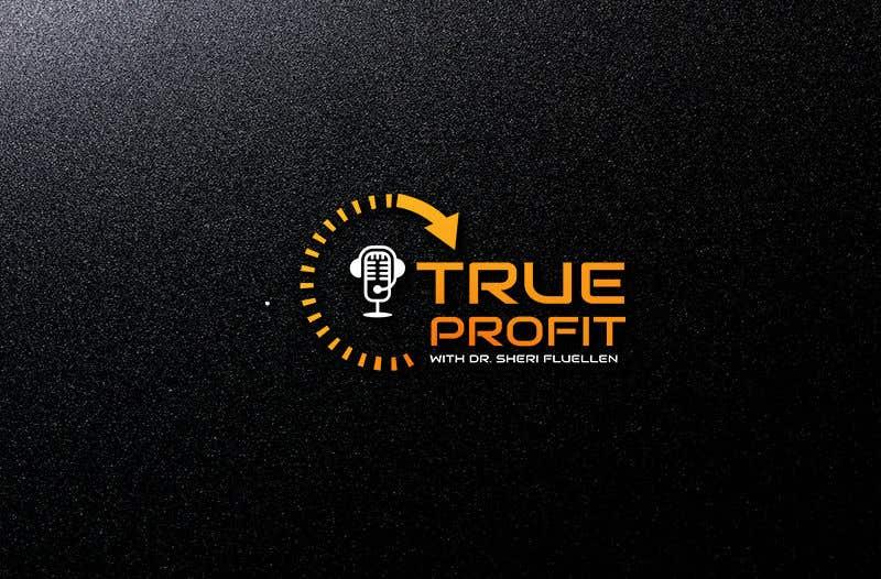Penyertaan Peraduan #30 untuk True Profit Podcast Logo