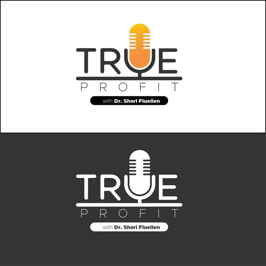 Penyertaan Peraduan #54 untuk True Profit Podcast Logo