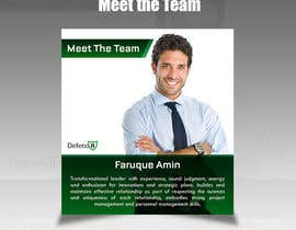 #12 for Meet the team and other posters by Crea8dezi9e
