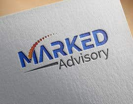 nº 11 pour I Need a slick logo for Marked Advisory par asmafa247