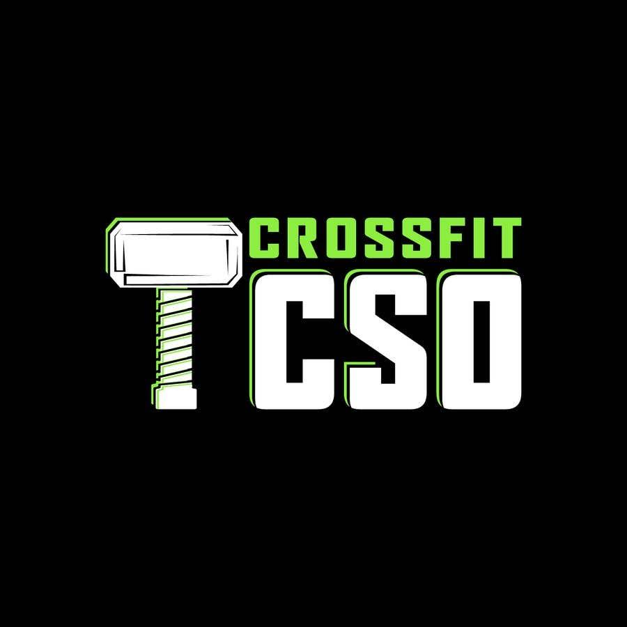 Bài tham dự cuộc thi #100 cho Crossfit TCSO - logo design