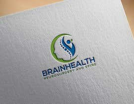 """#61 for we are a new medical practice specialising in surgical management of the brain and spine. our company name is """"Brainhealth Neurosurgery and Spine"""". we need a fresh and nice logo. (try avoid the scalpels and snakes that are usually associated with medical  by heisismailhossai"""