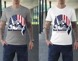 Nro 15 kilpailuun Real American Apparel designs käyttäjältä mukta965