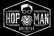 "Graphic Design Intrarea #33 pentru concursul ""As you can see, we have a logo, but we need to change the slogan of it and some words. Instead of Hop Doc  - we want it to be Hop Man. And slogan should be Brewpub. If we will like your style - we will work a lot in the future!"""