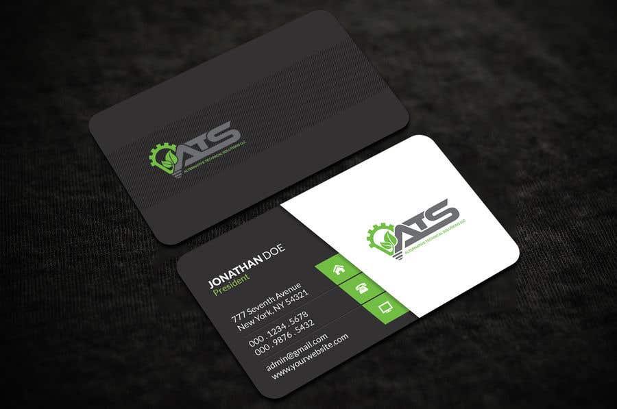 Inscrição nº 206 do Concurso para Business card design