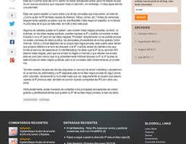 #11 para Wordpress Theme Design for blog of Email Marketing por danangm