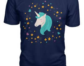 Nro 34 kilpailuun I need an original design for a unicorn themed t-shirt. It can be for kids or adults. It can be funny or serious...it's up to you. käyttäjältä designeranower