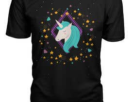 Nro 35 kilpailuun I need an original design for a unicorn themed t-shirt. It can be for kids or adults. It can be funny or serious...it's up to you. käyttäjältä designeranower
