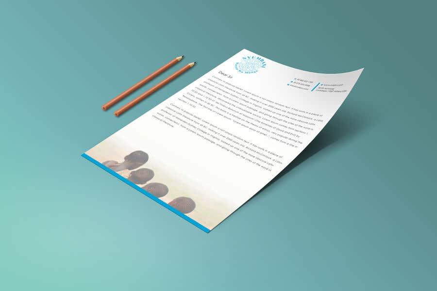 Penyertaan Peraduan #395 untuk design letterhead