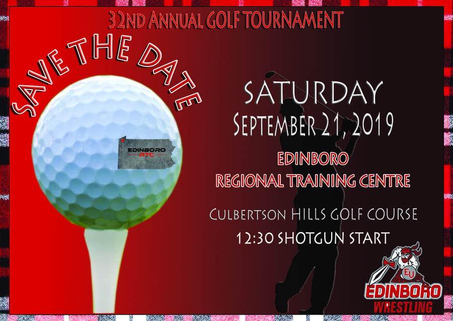 """Intrarea #9 pentru concursul """"Save The Date ERTC Golf Outing"""""""