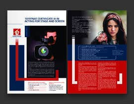 #80 for A4 brochure for performing arts school af meenapatwal