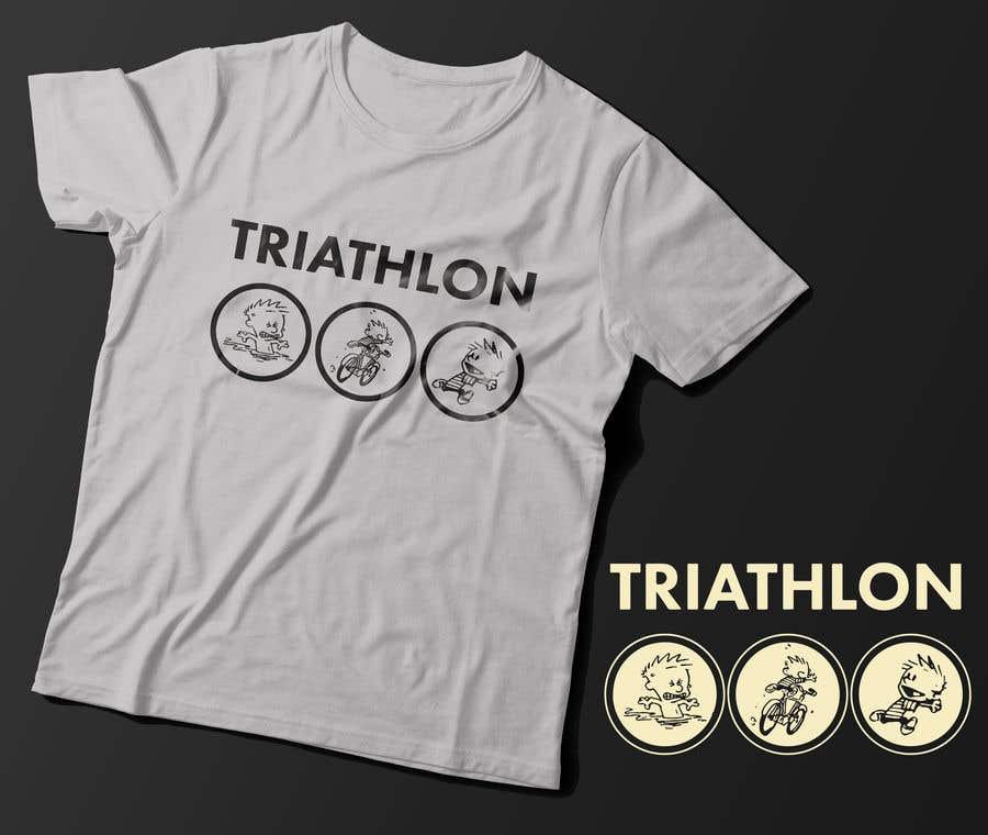 Penyertaan Peraduan #19 untuk Triathlon Characters