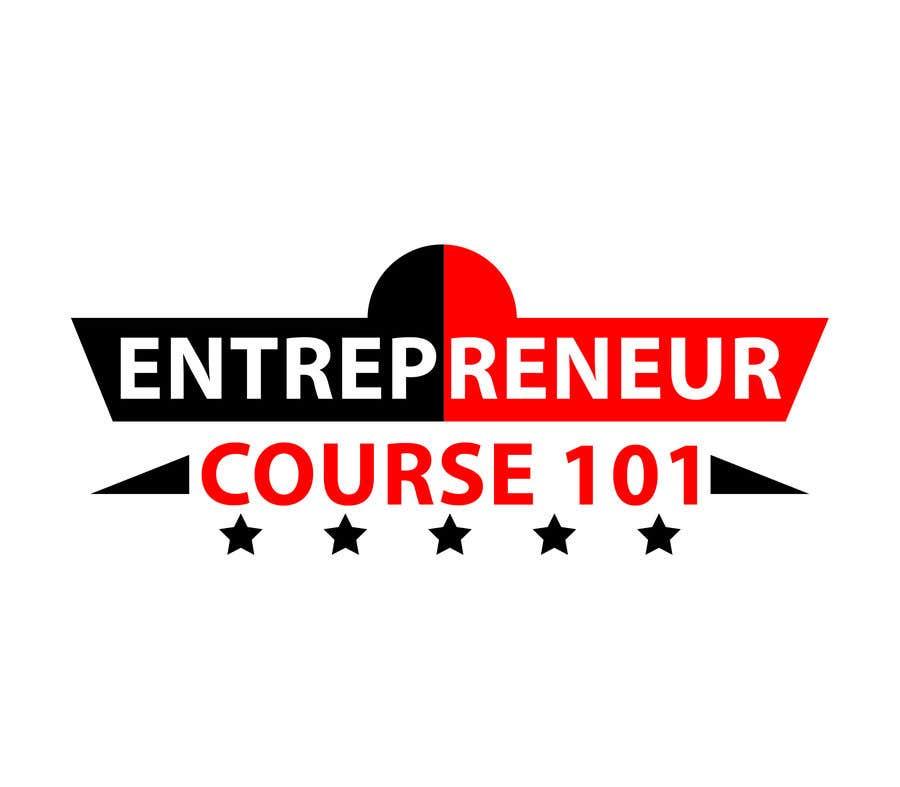 """Inscrição nº 29 do Concurso para Logo Design For """"Entrepreneur Course 101"""""""