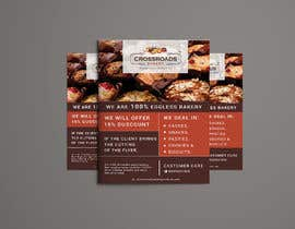 #44 for Need a flyer for a new opening of a Bakery outlet by designerrupa