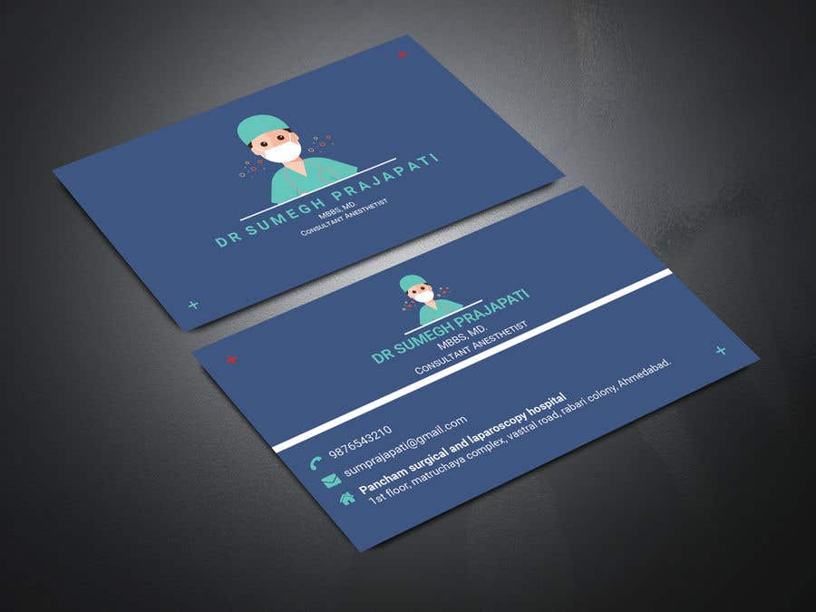 Proposition n°176 du concours Bussiness Card Design (Medical)