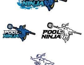 #47 для Design a Business logo - Pool Ninja от nurallam121