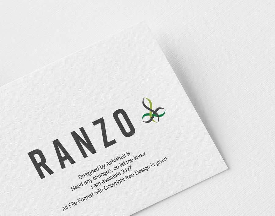 """Intrarea #70 pentru concursul """"Ranzo Logo"""""""
