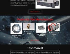 nº 10 pour Wordpress website for machinery business par Mdfiroj22