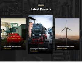 nº 3 pour Wordpress website for machinery business par fatimaC09