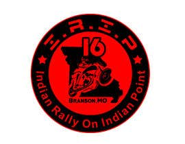#16 for Design a motorcycle rally patch by KLTP