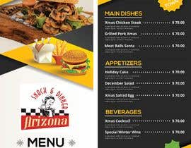 nº 31 pour Design a menu based on the current developed website design par hamzaikram313