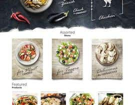 #4 for Design a menu based on the current developed website design by sharonpraju