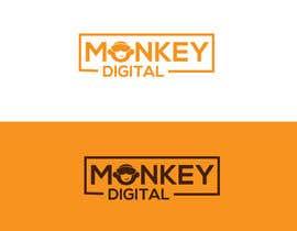 #82 untuk Create a logo for Monkey Digital oleh shafayetmurad152