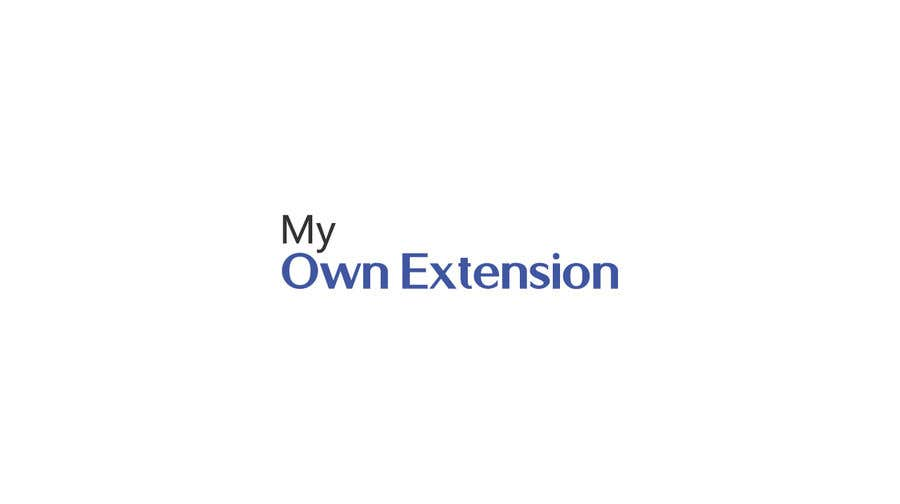 "Contest Entry #25 for Create a Logo For ""My Own Extension"" word"