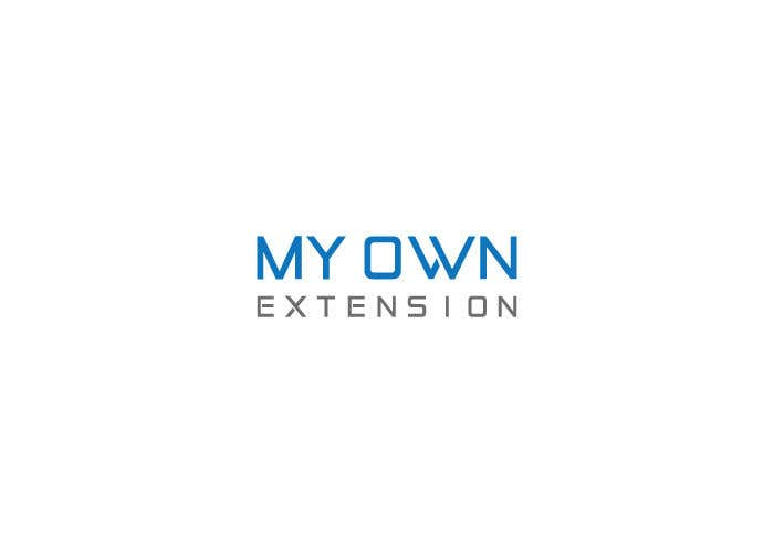 "Contest Entry #14 for Create a Logo For ""My Own Extension"" word"