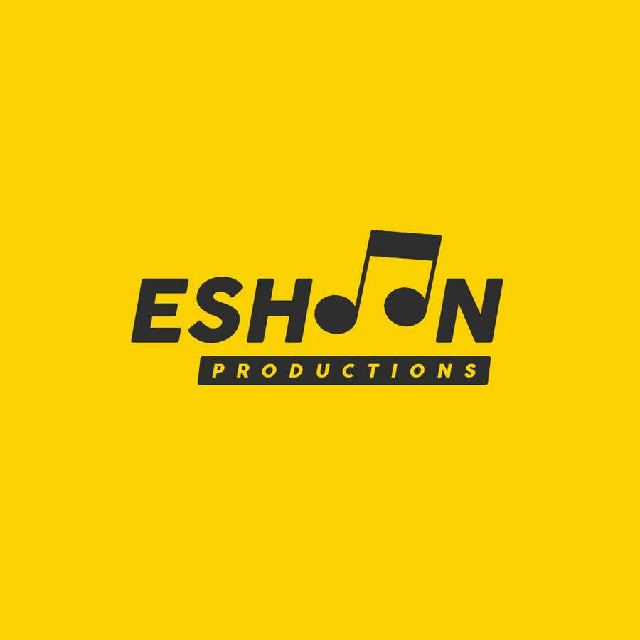 "Penyertaan Peraduan #28 untuk I need a logo designed. ""Eshoon Productions "" Details ( Music , Entertainment & Event planning Company )"