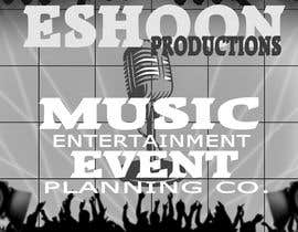 "#7 untuk I need a logo designed. ""Eshoon Productions "" Details ( Music , Entertainment & Event planning Company ) oleh musketrider"