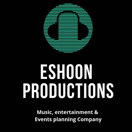 "Penyertaan Peraduan #1 untuk I need a logo designed. ""Eshoon Productions "" Details ( Music , Entertainment & Event planning Company )"